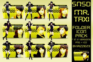 SNSD Mr. Taxi Folder Icon Pack by Rizzie23