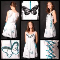 Butterfly Dress (take 2) by MaybeAnna