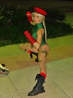 Cammy From Street Fighter Cosplay at Otakon by GamerZone18