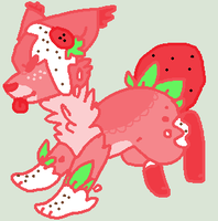 Strawberry Auction [CLOSED] by oOMintAdoptablesOo