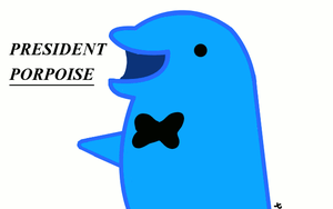 ~President Porpoise GIF!~ by Jake-The-Geek