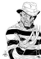 Freddy Kruger Ink by SWAVE18
