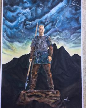 Ragnar Lothbrook by megprs
