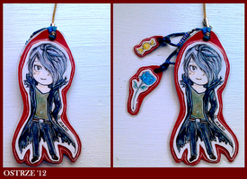 Garry cellphone strap by Ostrze