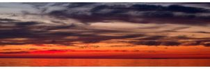 Sunset Panorama I by Julian-Bunker