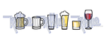 some assets of drinking buddy app by kid-blue