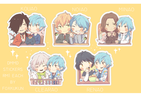 DMMd stickers by UselessFoxSai