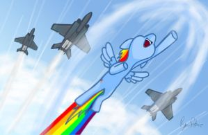 Rainbow Jets by petirep
