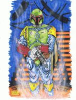 bobba fett pin up by stevelydic