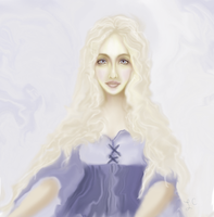 Pale Yellows And Blue Dress1 by thepurpleorchid1