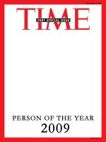 TIME person of the year 2009 by suhurmash