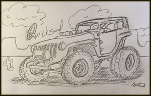 Jeep Quicksand Sketch by AgentC-24