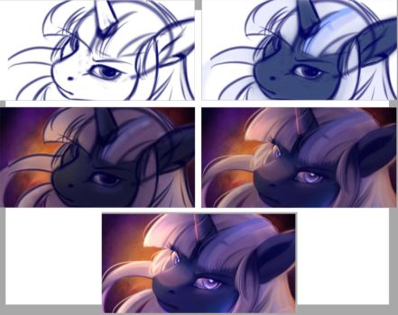 Process.... thing by OblivionHeart13