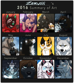 Summary of Art 2016 by Zerwolf