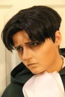 Levi Makeup and Wig Test by xHee-Heex