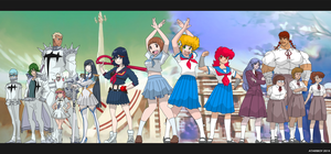 Kill La Kill, My New Project A-ko? by Atariboy2600