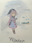 Winter Kobato by AnnMY
