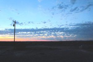 Sunrise from the front porch by whendt