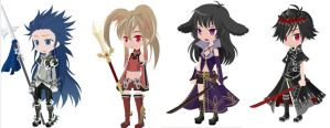 CLOSED! Free Selfy Adoptables-Theme: Fantasy Game by Mirror-Adopts