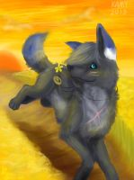 yumi loves colors-----yellow by Kami-Unreal