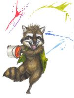 Sketchbook Pg13-Rackety Paints by T-Tiger