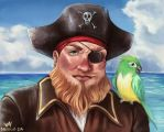 Painty the Pirate by Millkie