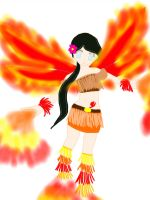 Fairy of the Brilliant Flame by PhoenixNinja66
