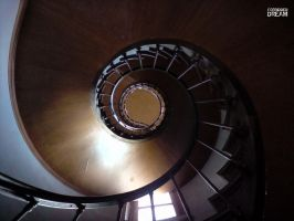 Spiral stairs by AuroraxCore
