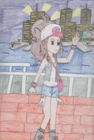 Pokemon - Touko in the Big City by SwiftNinja91