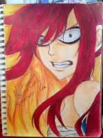Erza Scarlet by charswarrenxo