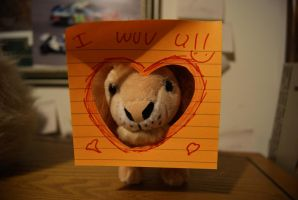 Travis The Lion Loves You! by rioross