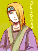 Young Deidara by Koaled