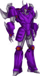 Transformers- Cyclonus Colored by chibigingi