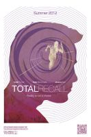 Total Recall movie poster by OllieBoyd