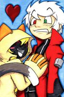 CC Taokaka and Ragna by LastRyghtz