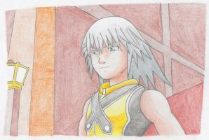 Riku's in twilight town by ICUDO