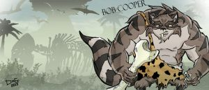 Sly and His Ancestor: Caveman Bob Cooper by loaldnt