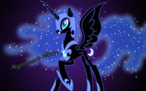 Nightmare Moon Wallpaper by Shrek214