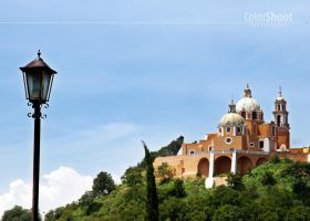 Cerro de Cholula by ColorShoot