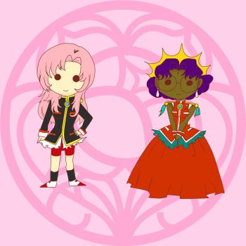 Utena and Anthy by Danielle-chan
