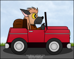 Going for a Drive-Digital Color by LordDominic