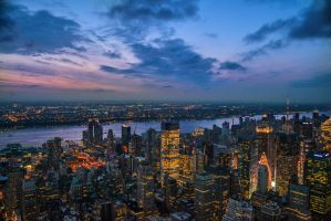 New York Skyline by patientpanda
