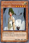 Princess Mononoke Yu-Gi-Oh Card by dakln
