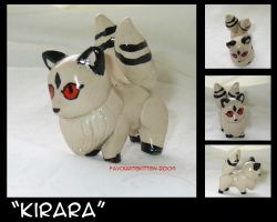 Kirara In Clay by FavouriteKitten