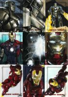 Iron Man The Movie set 2 by gattadonna
