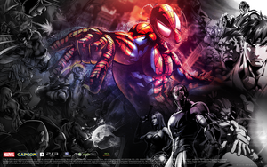 Marvel Vs Capcom 3 Wallpaper by CporsDesigns