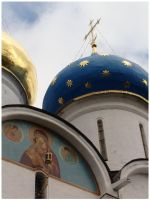 Dome of Assumption Cathedral by chur