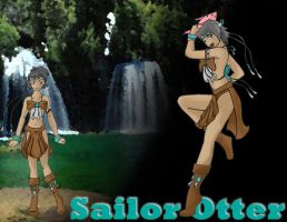 Sailor Zodiac Otter by sushi-just-ask