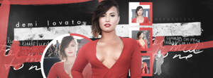 Demi Lovato Facebook Cover 003 by PerfectMiley