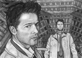 Castiel by lupinemagic